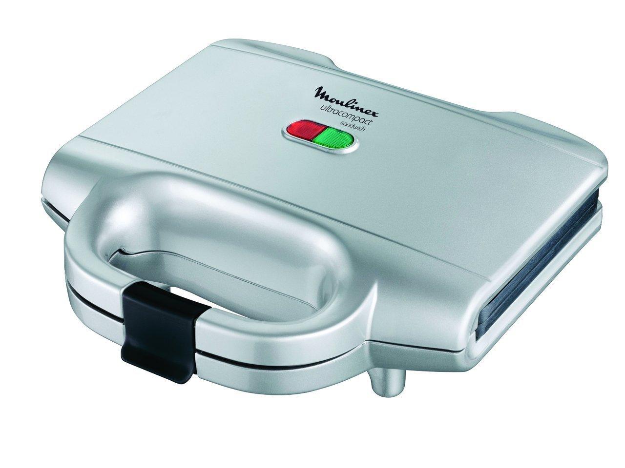 Muolinex SM1561 Piastra Elettrica Sandwich Ultracompact [Classe di efficienza energetica A] Moulinex 4725