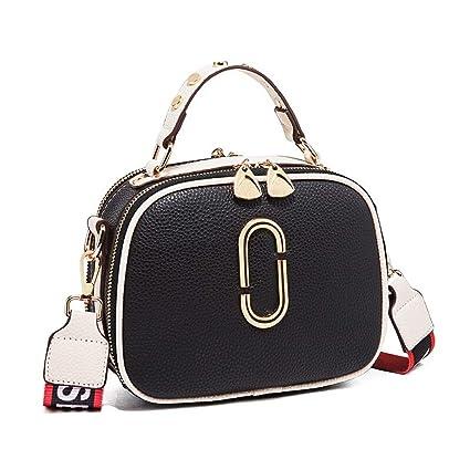 Amazon.com: Zhijie-bags - Bolso bandolera para mujer con 2 ...
