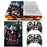 Cheap GoldenDeal Xbox One S Console and Wireless Controller Skin Set – Super Hero – XboxOne S XOS Sticker Vinyl