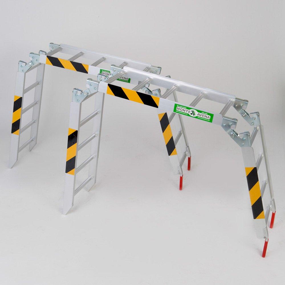 Rampa de carga aluminio max 540 kg plegable en tres partes par ...