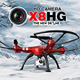 5 ch rc helicopter - Syma X8HG With 8MP HD Camera Altitude Hold Mode 2.4G 4CH 6Axis RC Quadcopter RTF