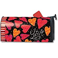 MailWraps Love Hearts Mailbox Cover 01085 by MailWraps