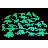 24 Piece Glow in the Dark Dinosaurs