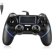 Powcan PS4 Controller Bedrade Controller voor Playstation 4 Dual Vibration Shock Joystick Gamepad voor PS4/PS4 Slim/PS4…