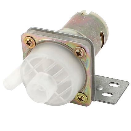 sourcingmap Dispensador de Agua hervidor eléctrico Izquierda Tipo magnético Bomba Micro Motor DC 12 V de