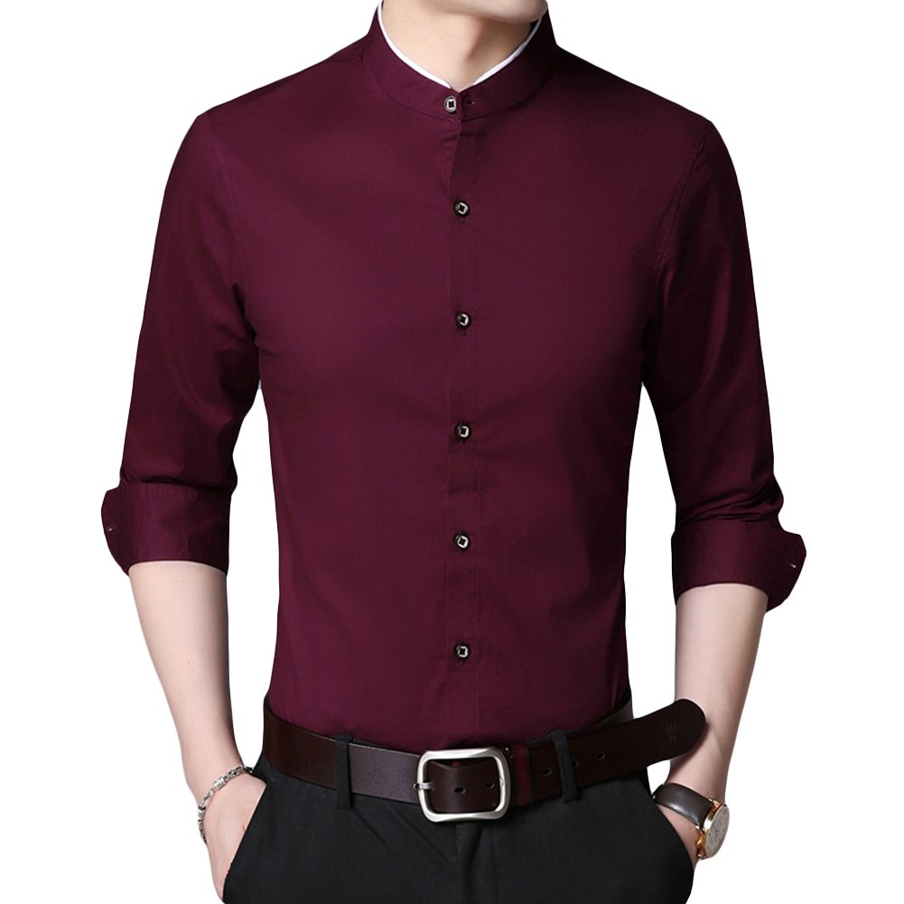 TALLA M. Sliktaa Camisa Formal - para Hombre