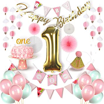 Premium First Birthday Decorations For Girl