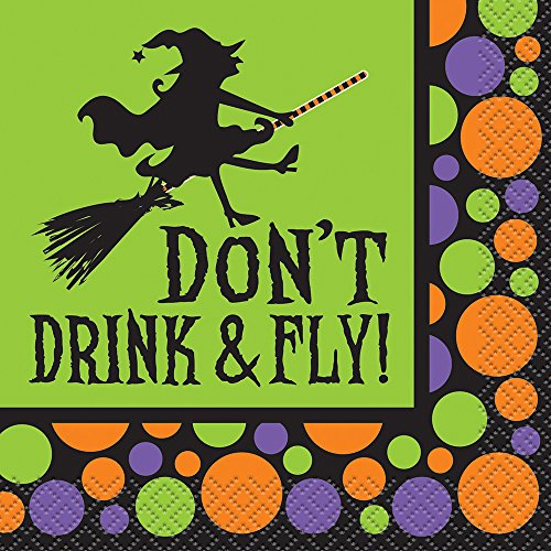 Dont Drink Halloween Cocktail Napkins