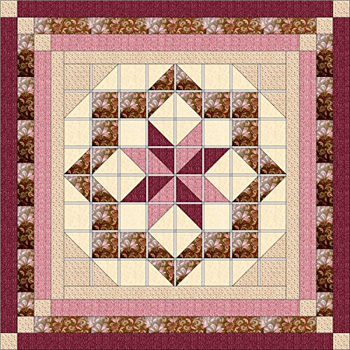 (Easy Quilt Kit Constellation/Queen/EXPEDITED SHIPPING)