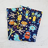 Baby Boy Monster Changing Mat Portable