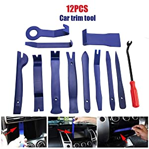 Yuniroom Auto Car Trim Door Panel Disassembly Removal Molding Tools Kit Set for Audio Radio Door Panel Windows Dashboard Bicycle Tire Console