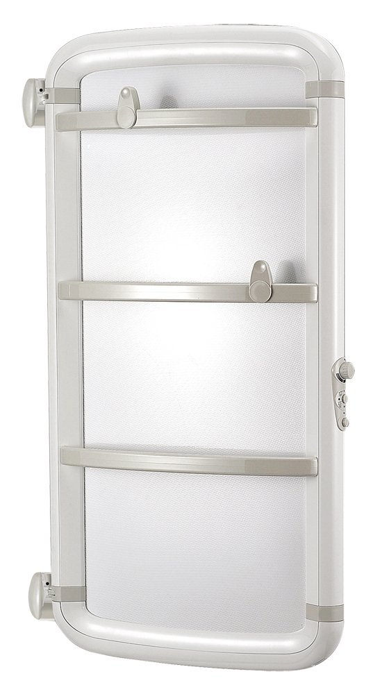 Radialight dhs11053 toallero eléctrico basculante helisea 110 blanco (450 W): Amazon.es: Bricolaje y herramientas