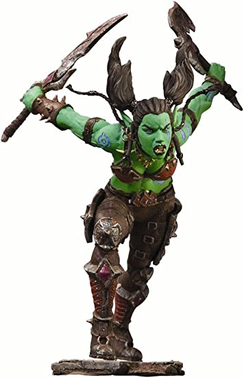 Amazon Com Dc Unlimited World Of Warcraft Series 7 Orc Rogue