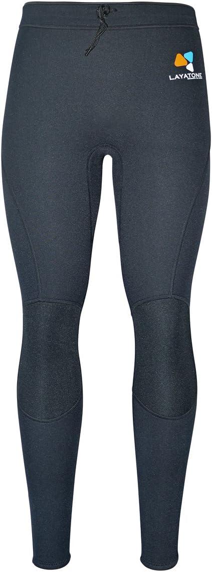 Layatone 2mm / 3mm Neoprene Pants Adults Wetsuit Pants Men Surfing Canoeing Swimming Scuba Diving Suit Pants Women Wet Suits Pants