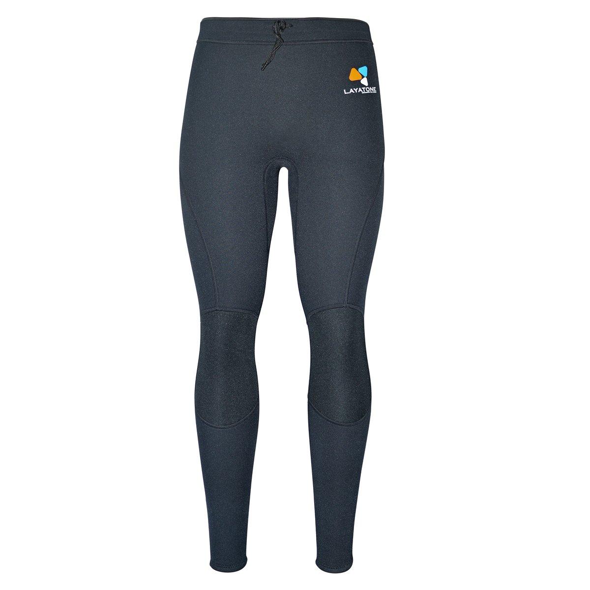 Layatone Wetsuit Pants Men Women Premium 2mm Neoprene Pants Surfing Snorkeling Canoeing Swimming Spearfishing Suit Pants Women Men Adults UV Protection Wet Suits Men Women by Layatone