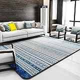 Rectangular lattice carpet Living room Tea table Bedroom blanket for bedroom Simple modern geometric rectangular room Carpets nordic-C 200x240cm(79x94inch)
