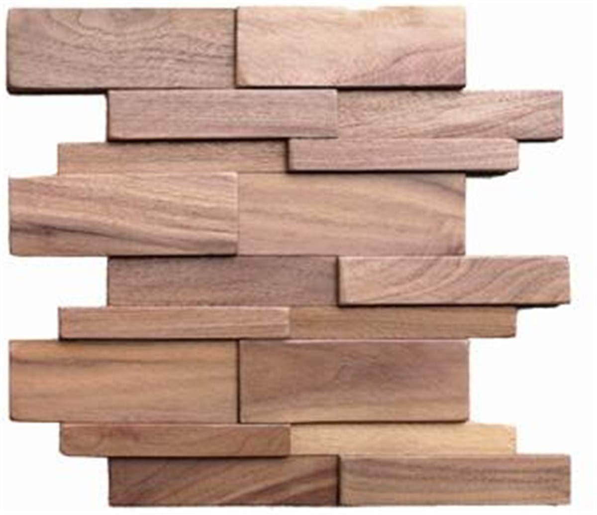 Amazoncom Solid Black Walnut Wood Wall Panel For Diy Wall Planks