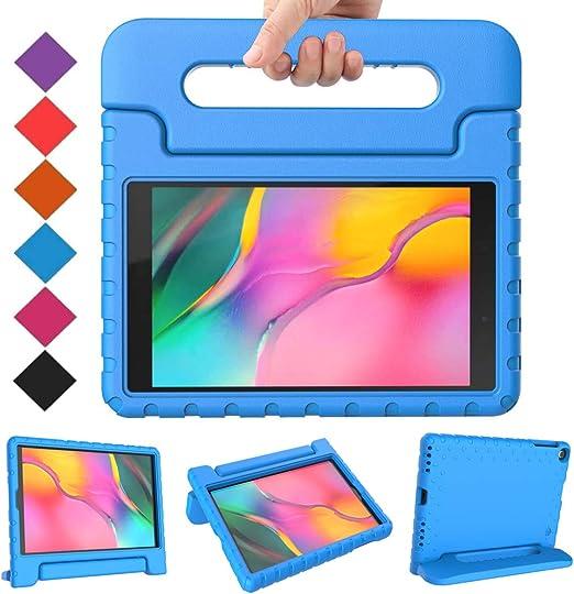 Amazon.com: BMOUO - Funda para Samsung Galaxy Tab A 10.1 (2019) SM-T510/T515, a prueba de golpes, ligera, con función atril, para Galaxy Tab A 10.1 pulgadas 2019, versión SM-T510/T515, color azul: Computers & Accessories