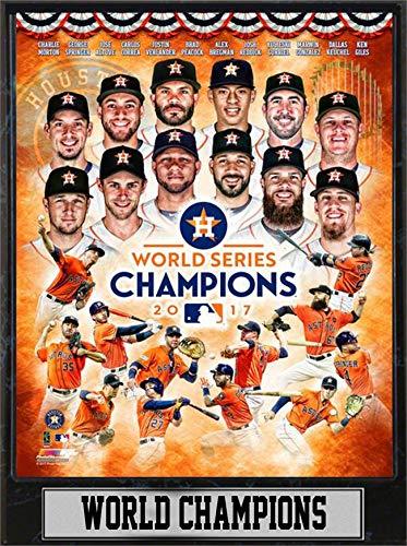 Encore 9x12 Plaque - 2017 World Series Champions Houston Astros