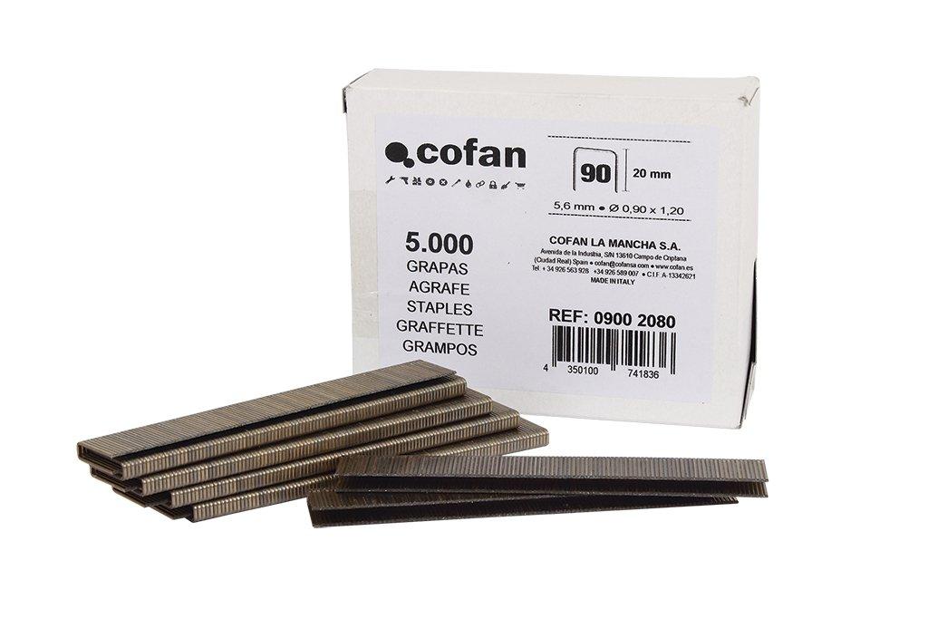 Cofan 09002082 Caja de Grapas, 30 mm Cofan (COFB0)