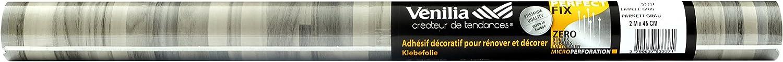 sans phtalates imperm/éable PVC 53328 Adh/ésif effet bois Perfect Fix/®  CHENE CLAIR 45 x 200 cm