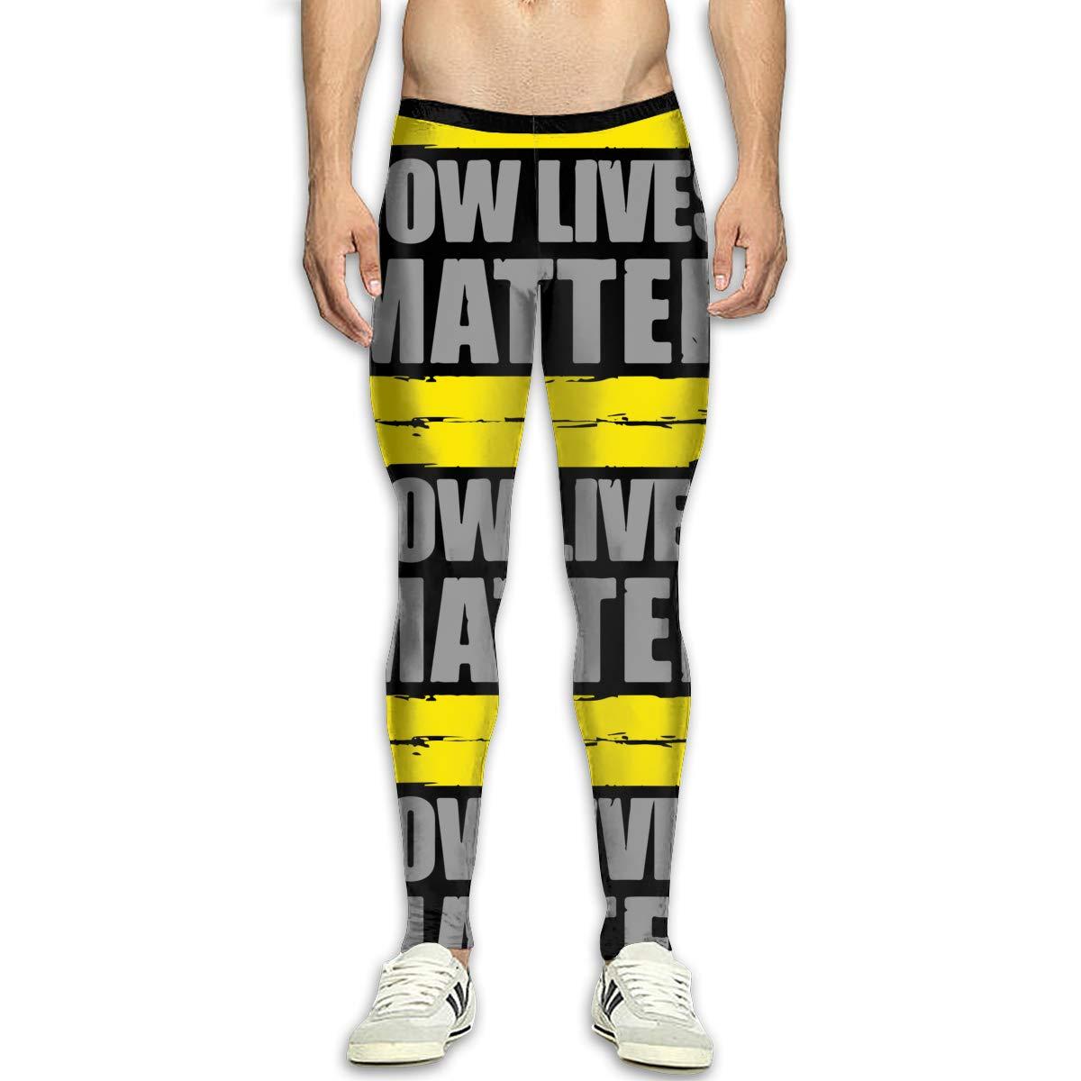 Amazon.com: Mens Tow Lives Matter Yoga Pants Sports Tights ...
