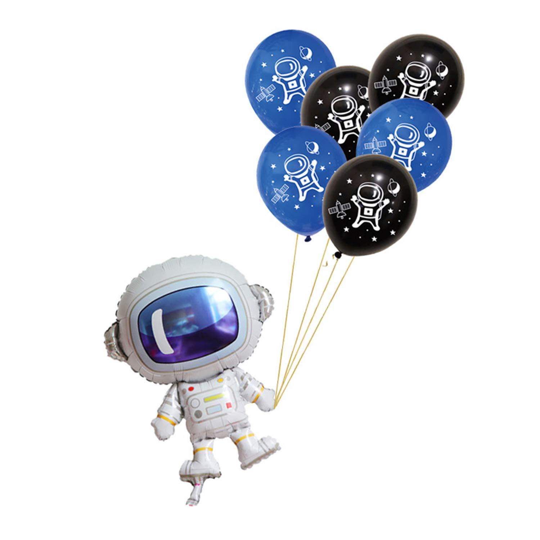 Amazon.com: YUNCHUANKJ Astronauta Globo Astronauta Patrón ...