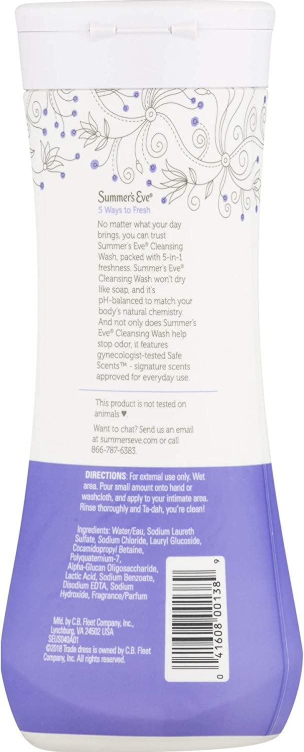 Summer's Eve Cleansing Wash Delicate Blossom, 3 Count: Health & Personal Care
