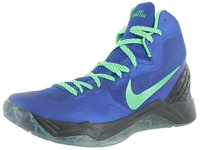 Nike Zoom Hyperdisruptor Herren Blau Basketball Schuhe Neu