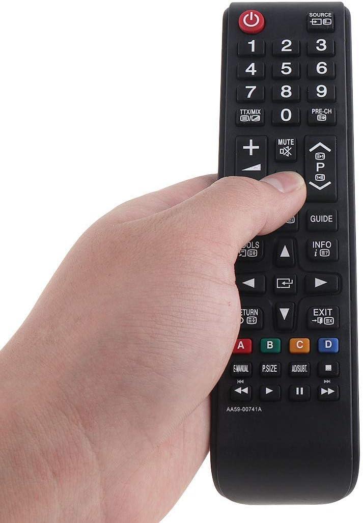 Reemplace AA59-00741A Mando para Samsung TV,Mando a Distancia Adecuado para Samsung TV: Amazon.es: Electrónica