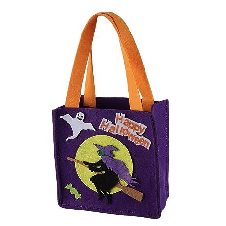 CABILOCK bolsa de asas de golosinas de dulces de halloween ...