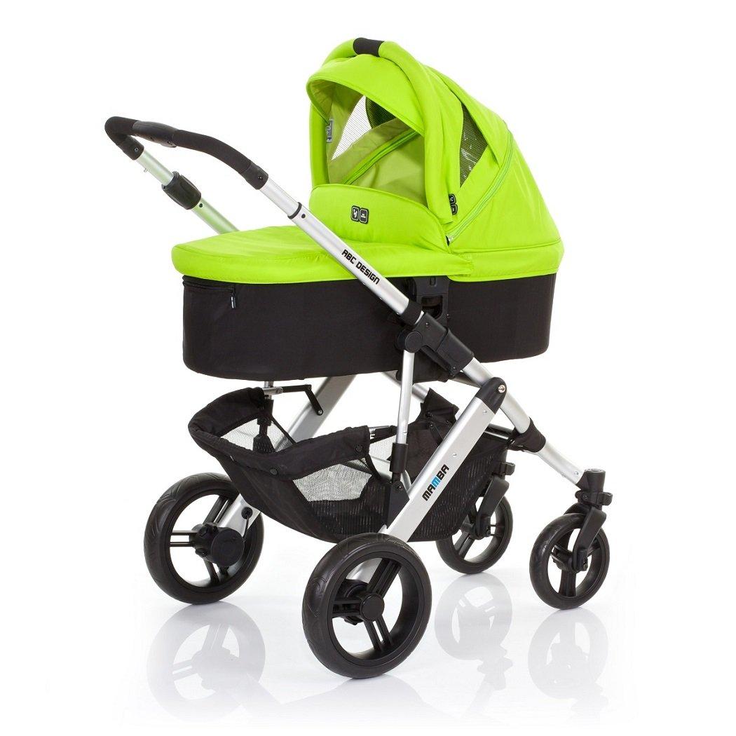 ABC Design Mamba sistema de viaje 3 en 1 (plata y verde): Amazon.es: Bebé