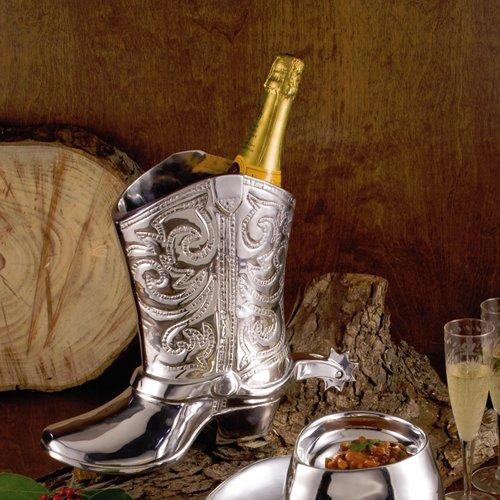 Beatriz Ball Western Cowboy Boot Wine - Wine Boot Cowboy