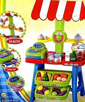 Children Grocery Market Stand