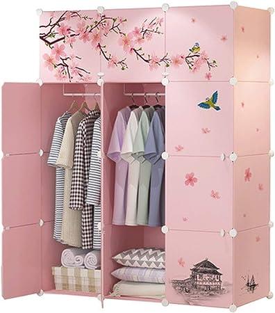 Armarios de dormitorio muebles hogar muebles de plástico resina armario montaje clóset organizador cuarto: Amazon.es: Juguetes y juegos