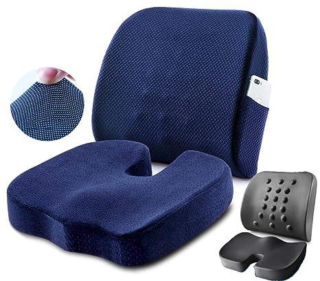 Cojín terapéutico ortopédico de gel para sentarse Cojín ...