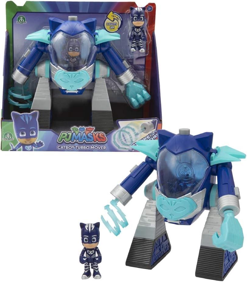 Giochi Preziosi PJ Masks Gattoboy Veh/ículo Turbo Movers con Personaje