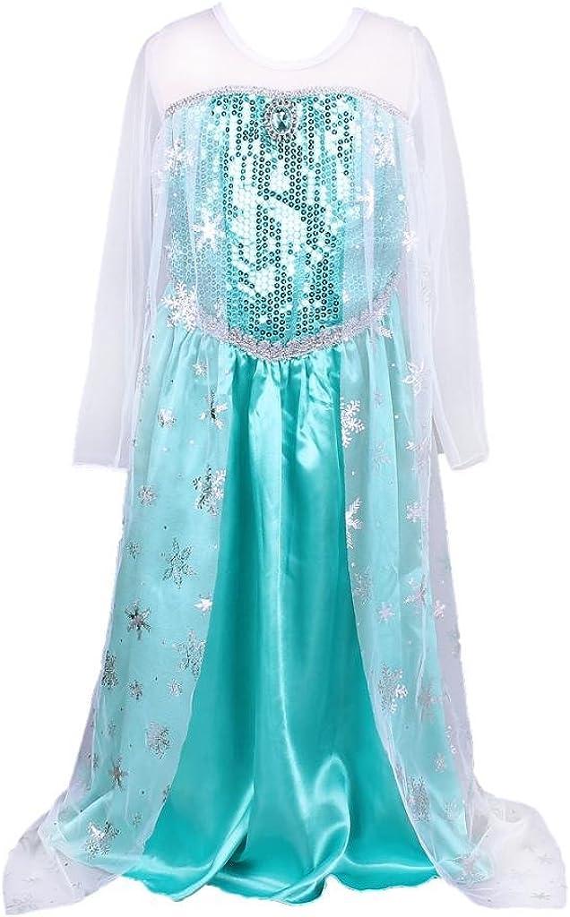 Pettigirl Girls Fancy Dresses Sequins Toddler Queen Halloween Costume