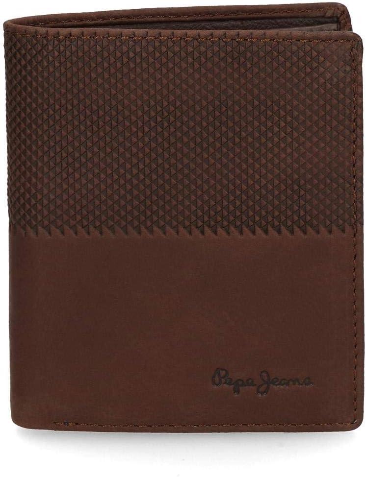 Cartera Pepe Jeans Half vertical marrón