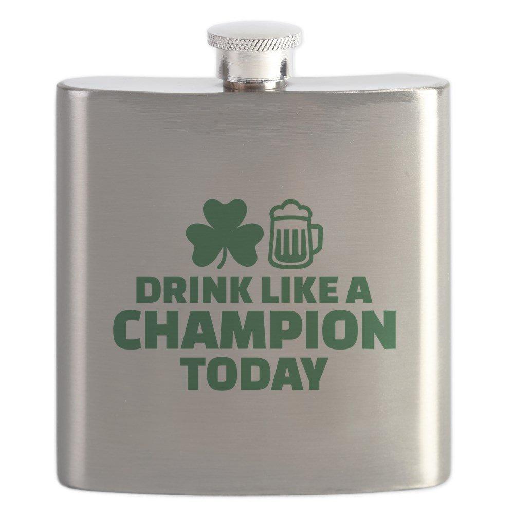 100 %品質保証 CafePress – – Drink – Like A A Champion今日 – ステンレススチールフラスコ、6オンスDrinkingフラスコ B0742DT22R, DCMオンライン ツールセンター:84f6ab25 --- a0267596.xsph.ru
