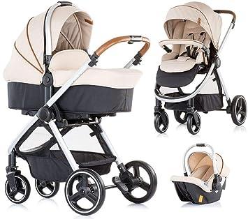 Cochecito de bebé 3 piezas Prema Caramel: Amazon.es: Bebé