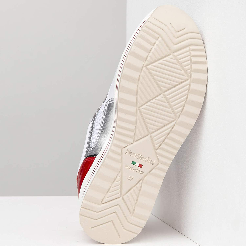 Nero Giardini E010568D Baskets Femme Blanc