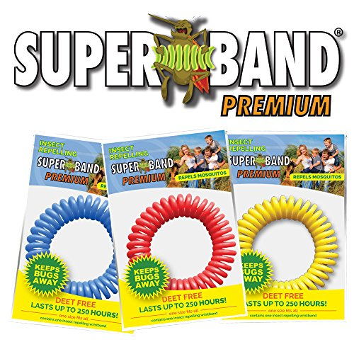 Superband Premium Insect Repellent Bracelets (25 Pack)