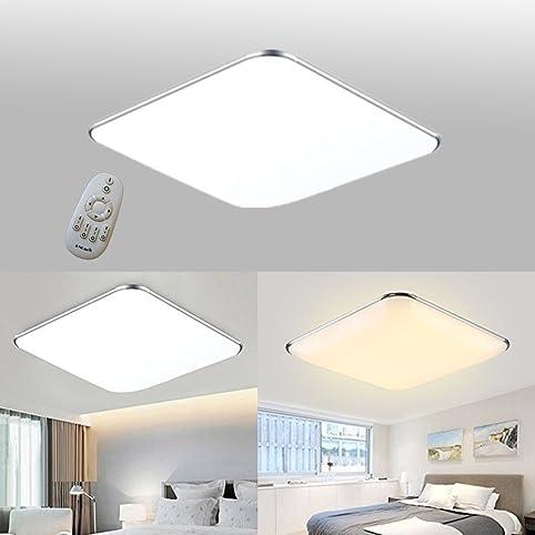 SAILUN 12W Dimmbar Ultraslim LED Deckenleuchte Modern Deckenlampe ...