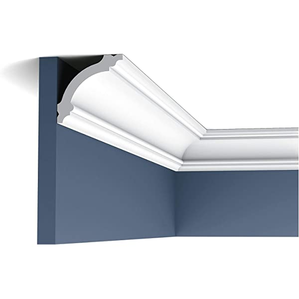 NMC NOMASTYL/® Plus - E 50 metros Cornisa // Moldura para techo // decorativa - envase econ/ómico