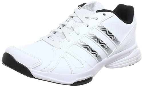 premium selection edc4b bc397 adidas Performance Sumbrah 2 - Zapatillas deportivas para interior de cuero  mujer, color blanco, talla 40 2 3  Amazon.es  Zapatos y complementos