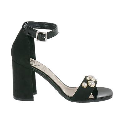 Damen Sandalen, Schwarz - Schwarz - Größe: 36 EU Lorenzo Mari