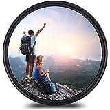82mm レンズフィルター MC UV レンズ保護フィルター 多層加工 薄枠 撥水防汚紫外線吸収用 各メーカー対応 (82mm)