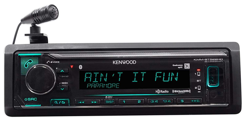 Kenwood Kmm Bt522hd In Dash Car Digital Media Receiver W Dual Stereo Wire Harness Additionally Wiring Bluetooth Usb Mp3 Electronics