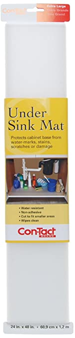 Con Tact Brand Non Adhesive Under Sink Mat, 24 Inches By 48